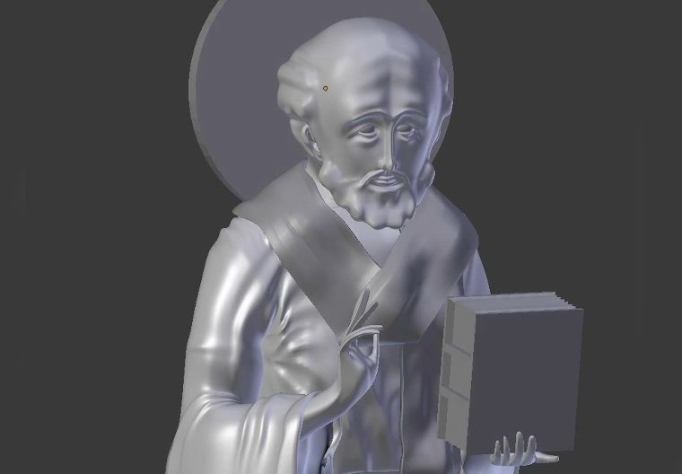 Saint Nicholas 3D Icononography