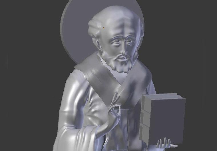 Saint Nicholas 3D Icononography