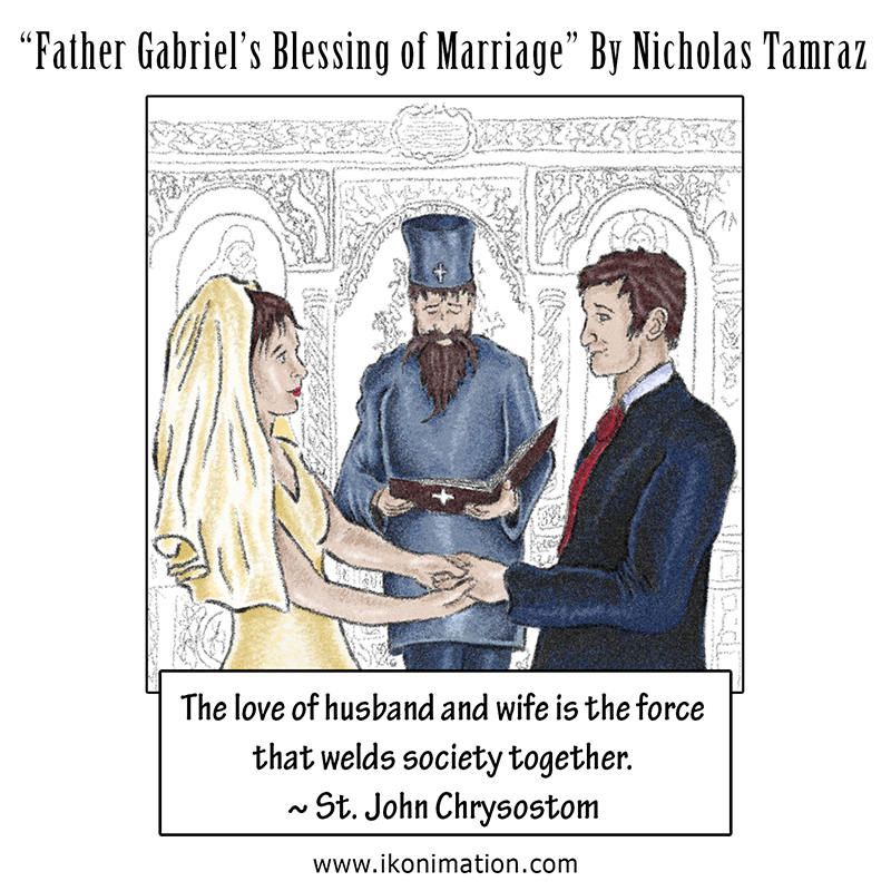 Father Gabriel's Blessing of Marriage