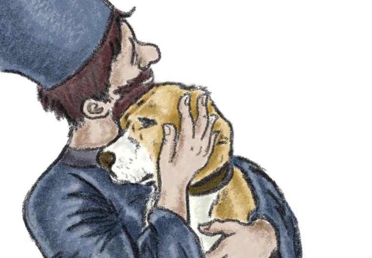 Father Gabriel's Dog