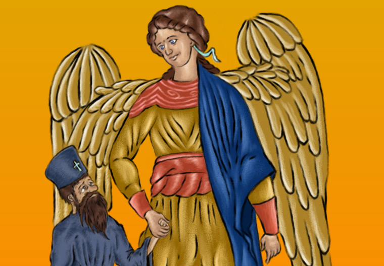Father Gabriel's Guardian Angel