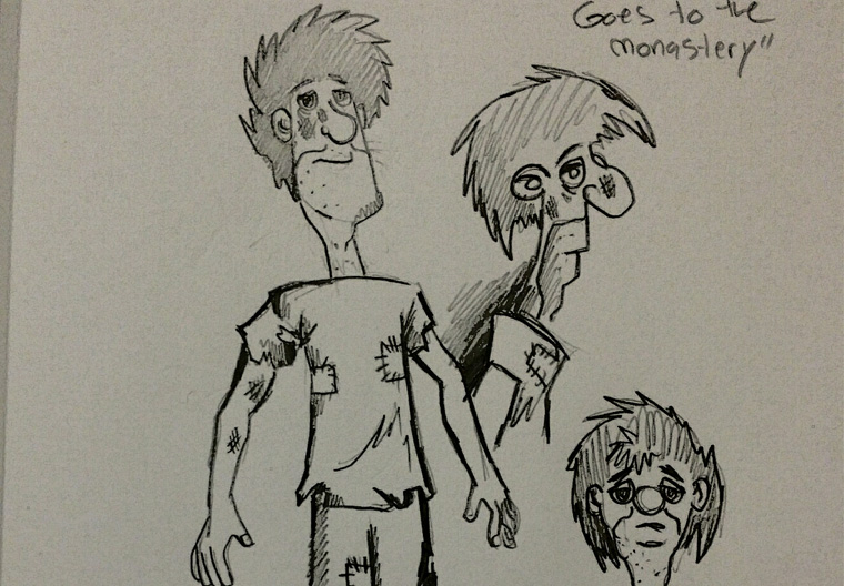 George the Homeless (Sketch 1)