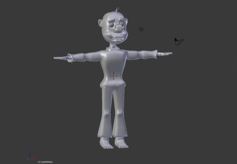 George the Homeless WIP 3D Character Model